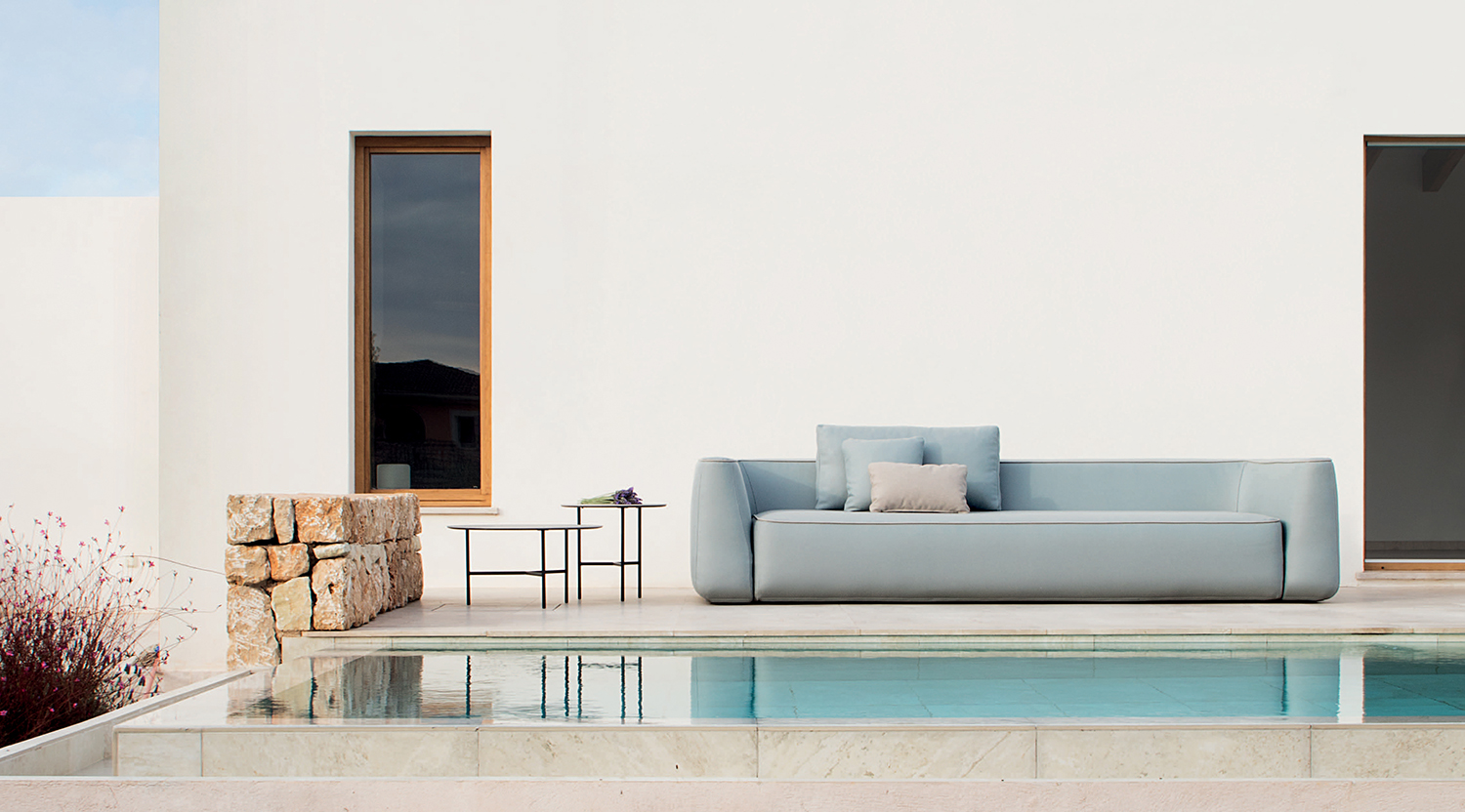 Expormim plum sofa outdoor